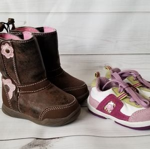 Other - LAST CHANCE! Baby Girl Size 2 Shoes Bundle